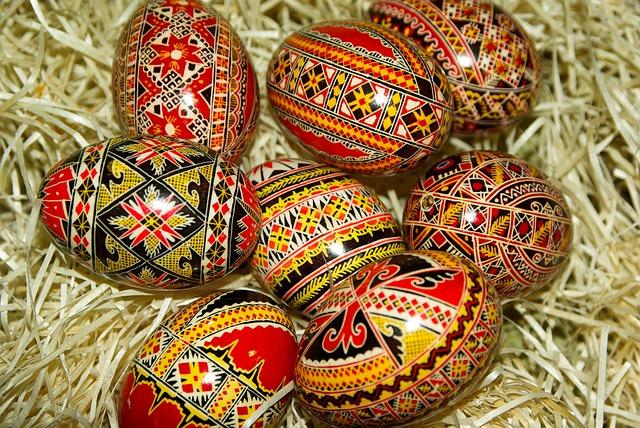 Romania Painted Eggs