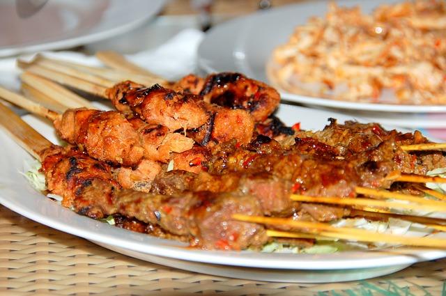 Bali Sate Dinner