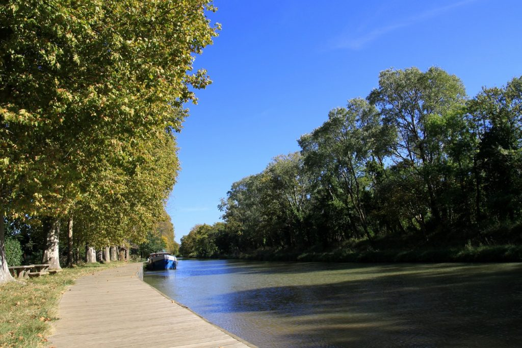 Canal Du Midi Languedoc-Roussillon, France