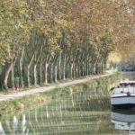 Barge on Canal Du Midi France