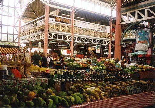 Papeete Market Tahiti