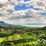 Lake Balaton Hungary Vineyards