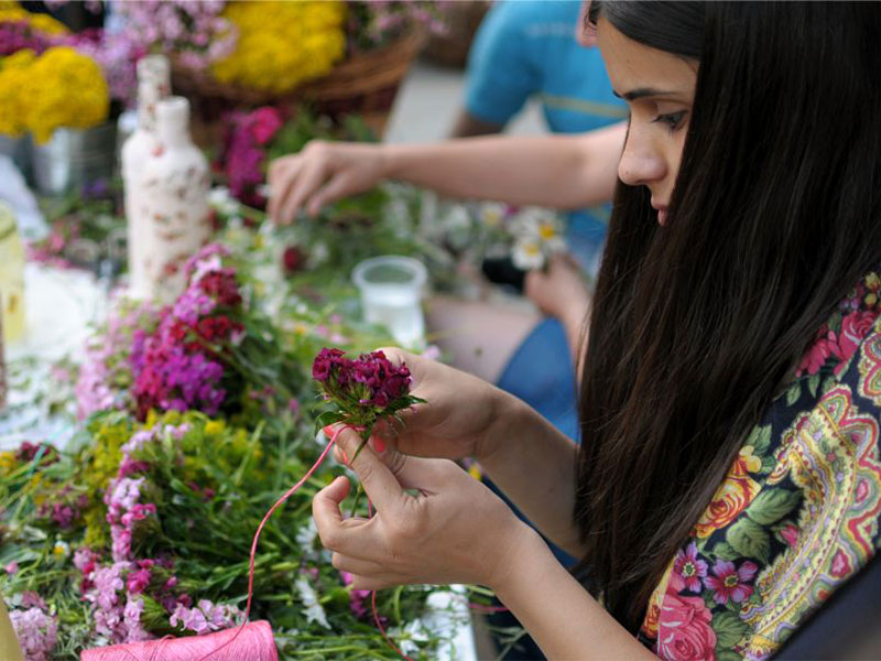 Festival of Flowers Georgia