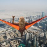 Dubai Hammock Girl via Pixabay
