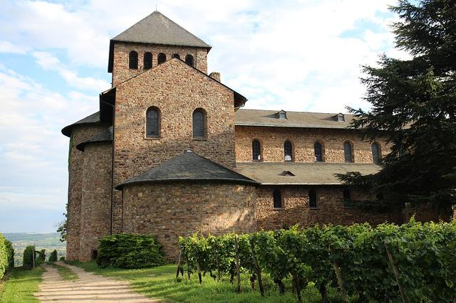 Reingau Germany Vineyard in Monastery