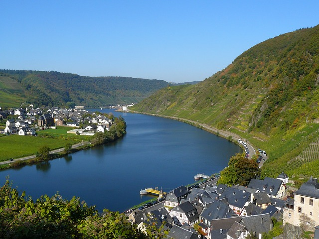 Mosel River Vineyards Germany
