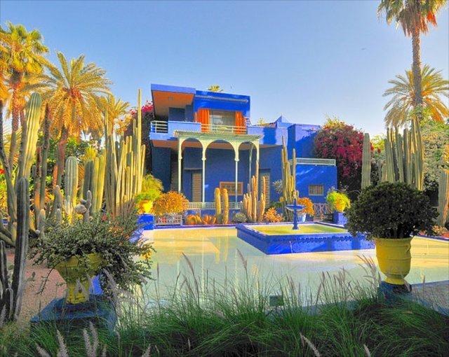 Jardin Marjorelle Marrakesh