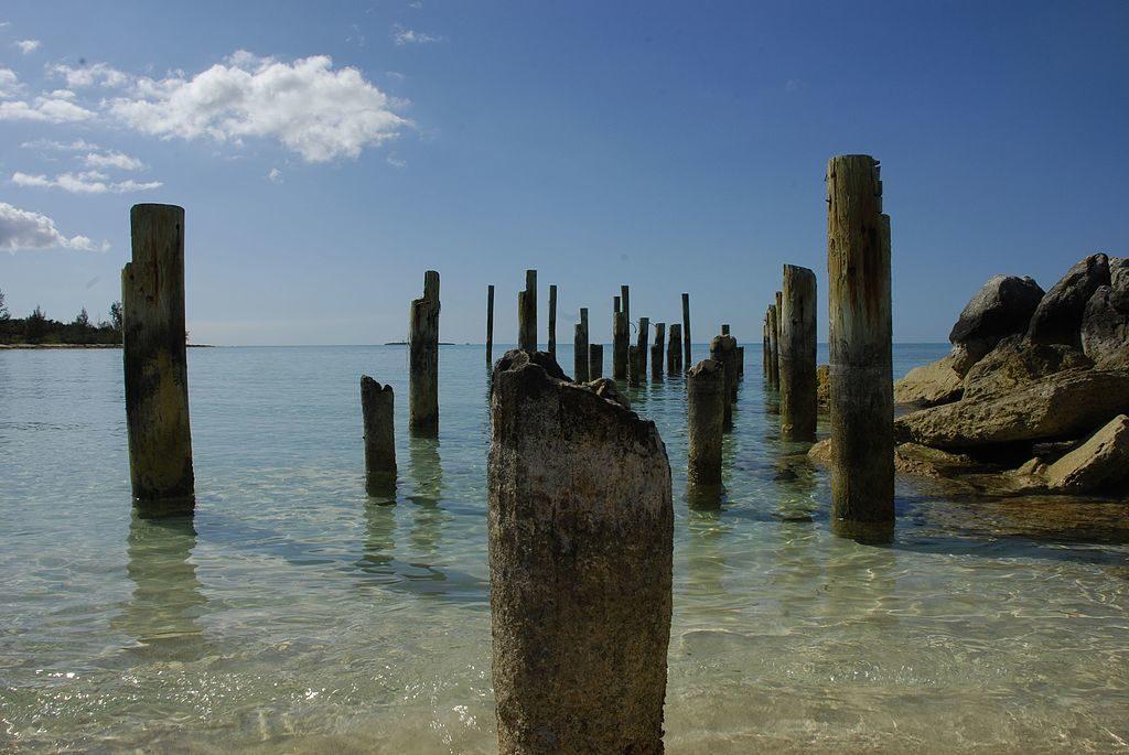 Jaws Dock Nassau Bahamas
