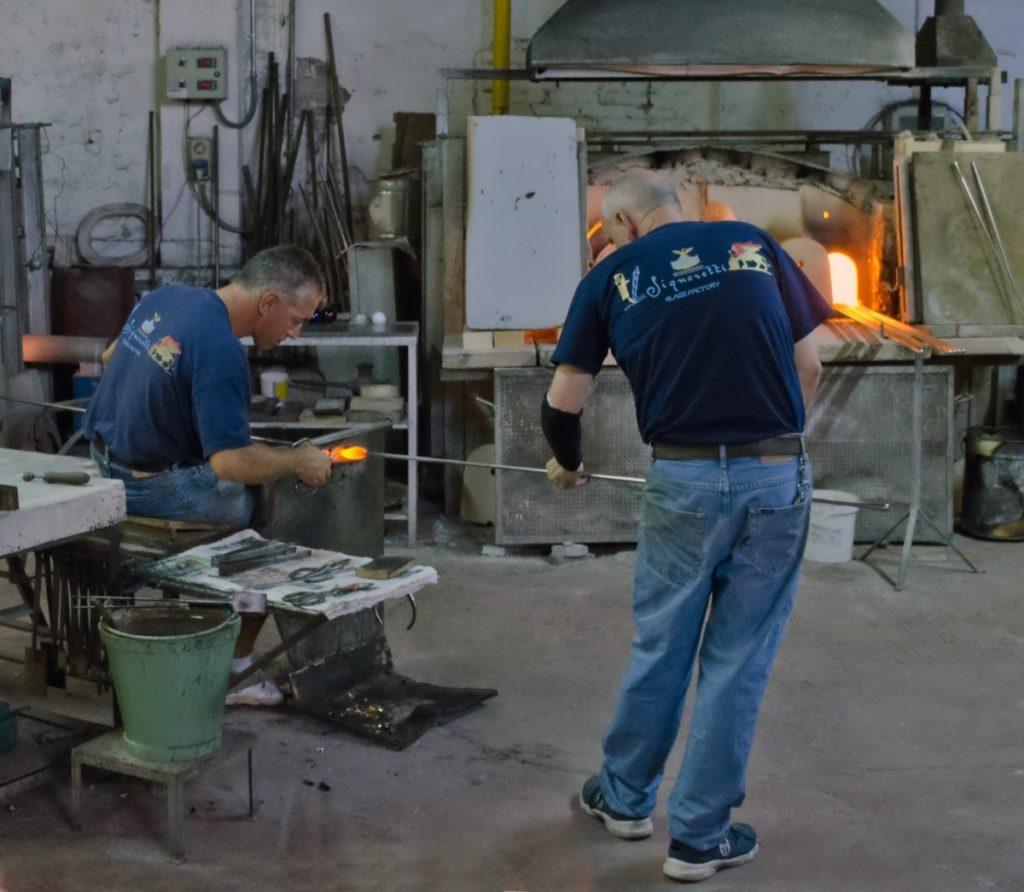 Murano Glass Fabory Venice