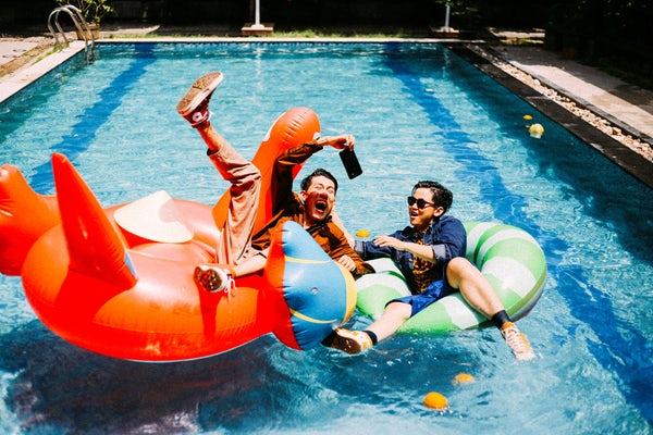 Pool Floats Photo