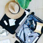 skincare travel routine
