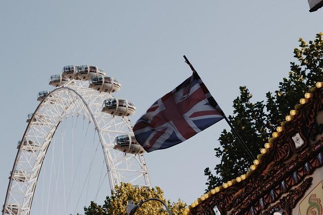 London Eye and Carousel