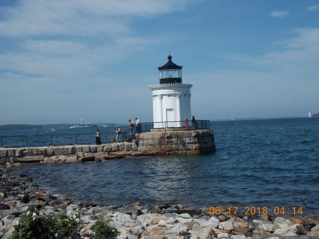 Lighthouse Cape Elizabeth Maine