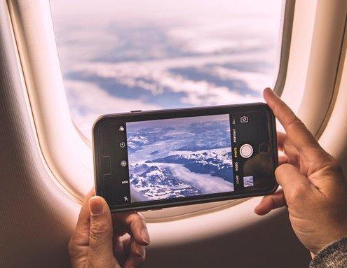 Airline Window Photo
