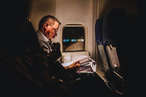Airplane Traveler