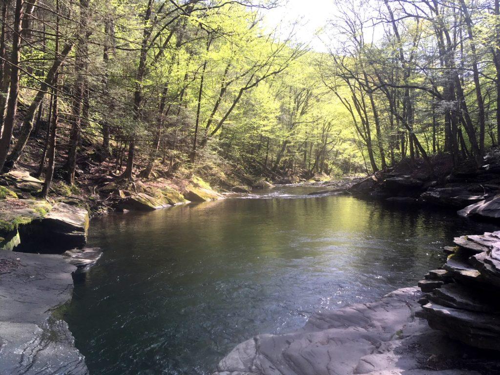 Peekamoose Blue Hole Catskills NY