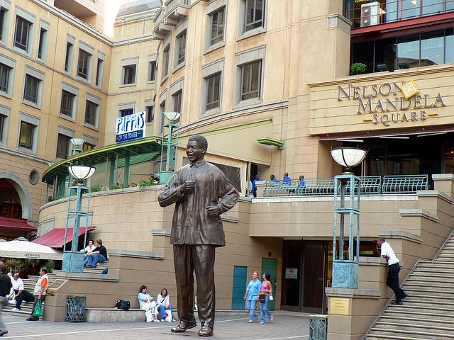 Johannesburg Mandella Square