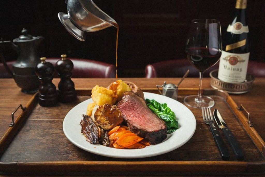 Hawksmoor Restaurant Manchester England