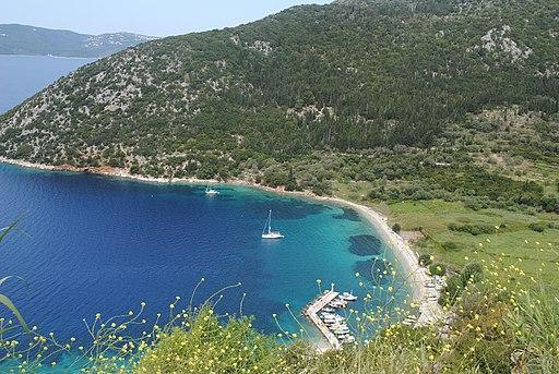 Antisamos Beach Kefalonia Greece