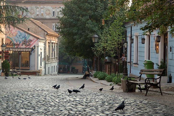 Skadarlija Street Belgrade Serbia