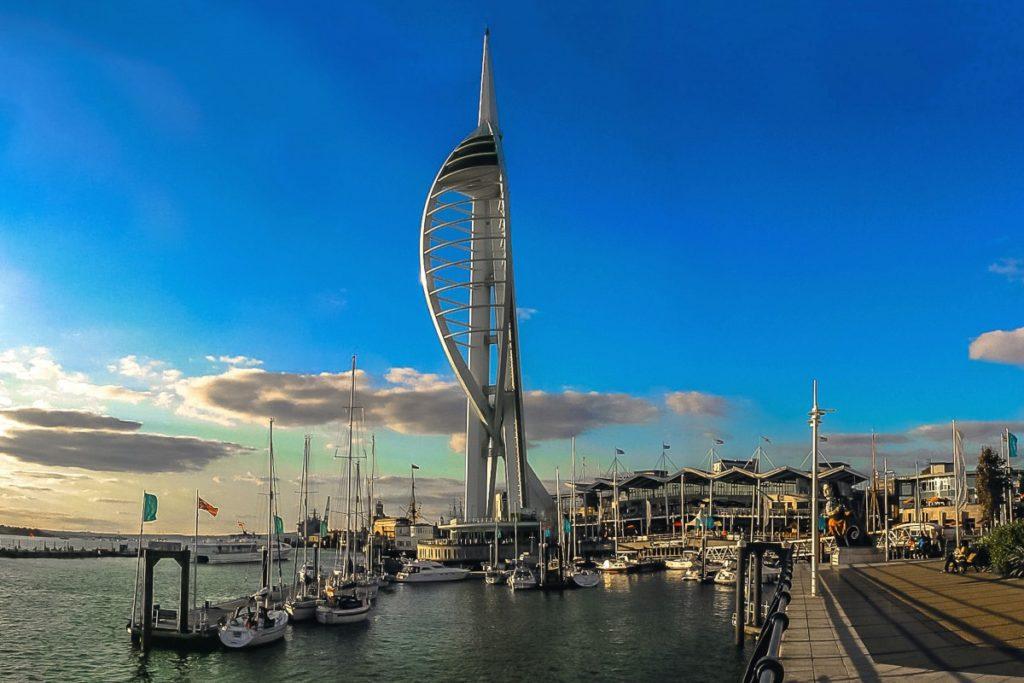 Spinakker Tower Portsmouth England