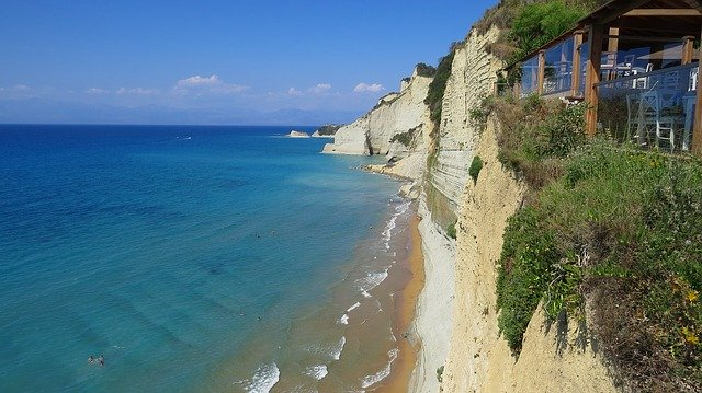 Corfu sea view