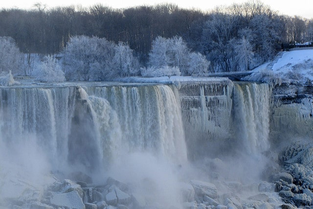 Niagara Fall in Winter