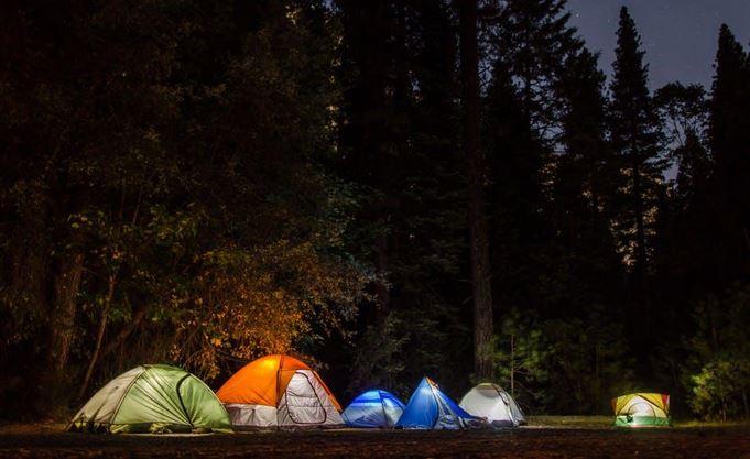 Alaska camping tents