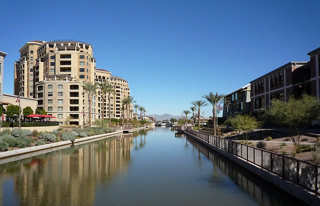 Scottsdale Arizona Waterfront