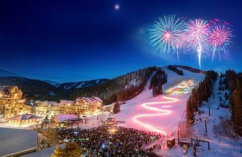 Winter Park Resort Torchlight Parade