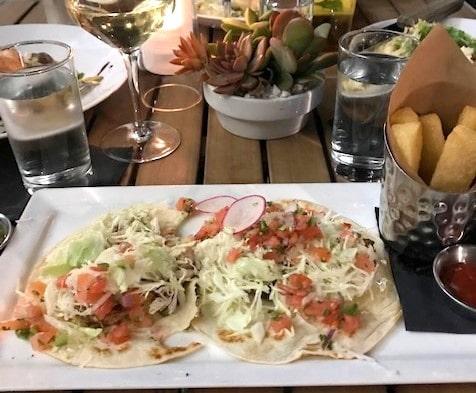 7th Avenue Social Tuna Dish