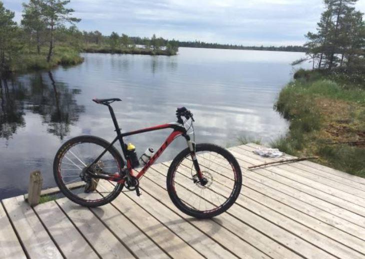 Biking in Estonia