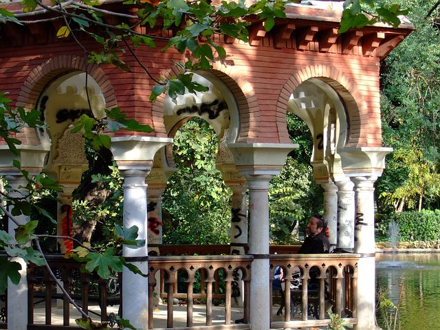 Seville in summer Maria Luisa Park