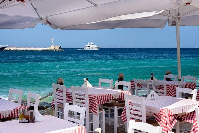Greece Waterfront Restaurant