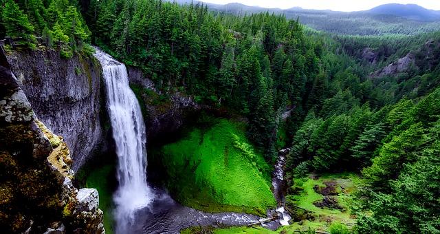 Oregon Salt Creek Falls