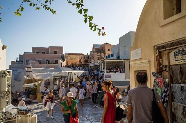 Greece peak season