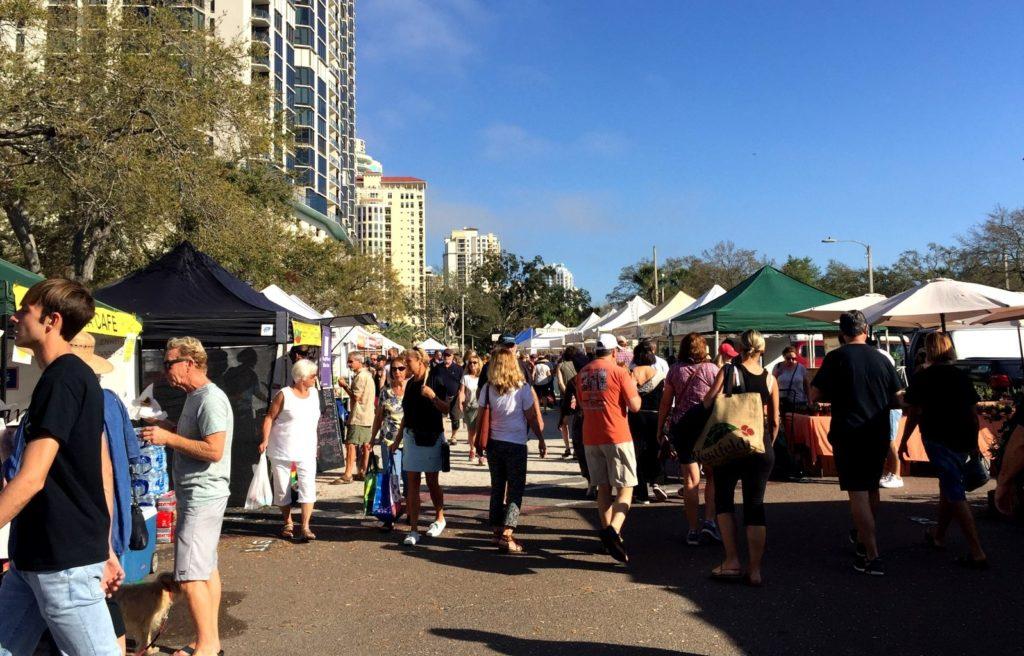 Street Market St. Petersburg FL