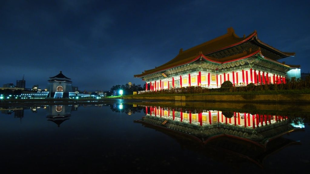 Taipei Attractions at Night