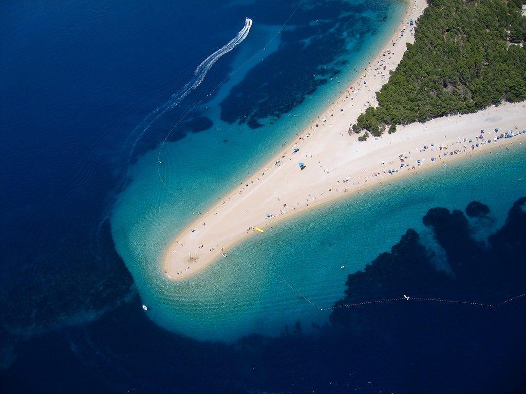 Zlatni Rat Beach Bol Croatia