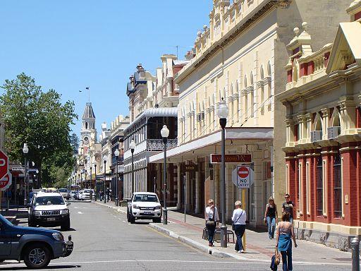 High Street Fremantle Australia