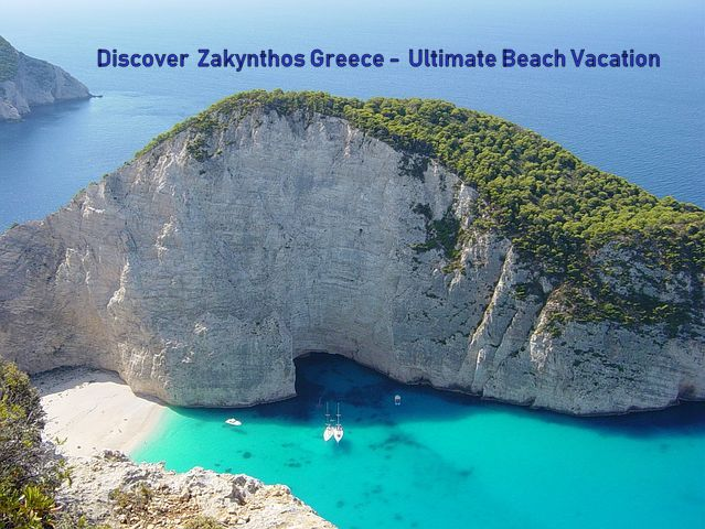 Zakynthos Greece Beach Vacation