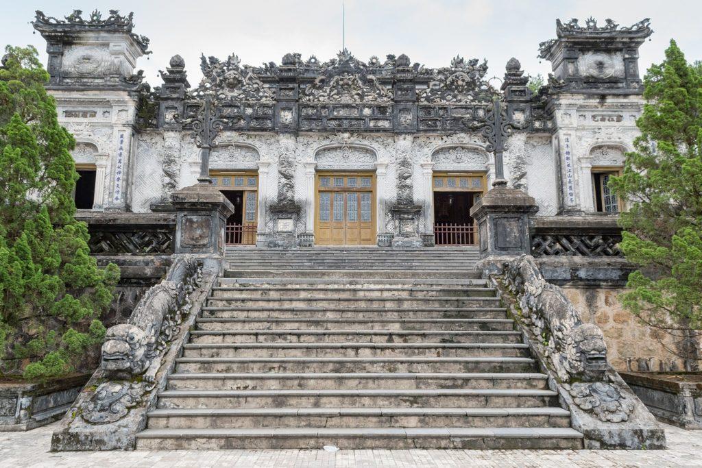 Emperor Khai Dinh Tomb in Hie Vietnam