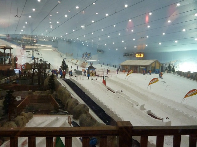Ski Dubai Theme Park