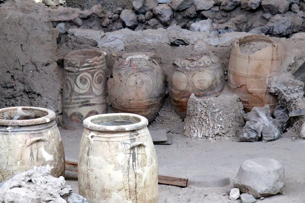 Ancient Akrotiri Greece