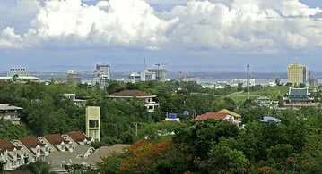 Cebu City View From Temple