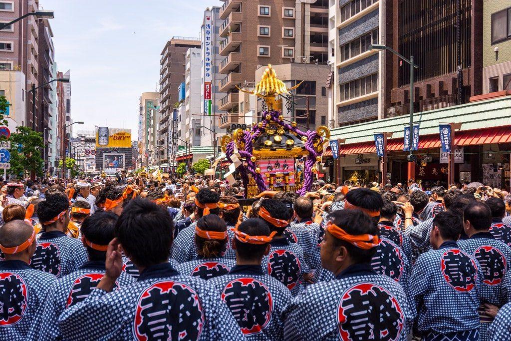 Sanja Matsuri Festival Japan