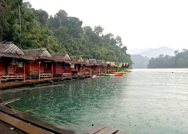 Khao Sok Floating Raft Houses