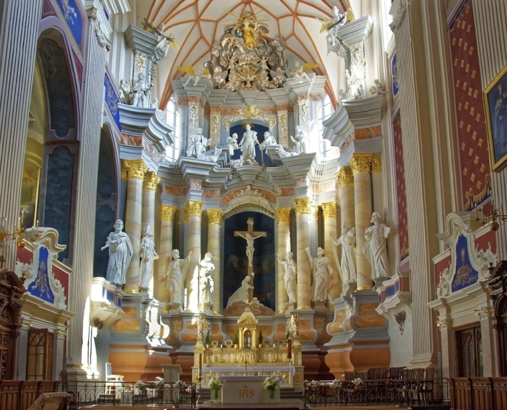 St. Peter and Paul Cathedral Lithuania