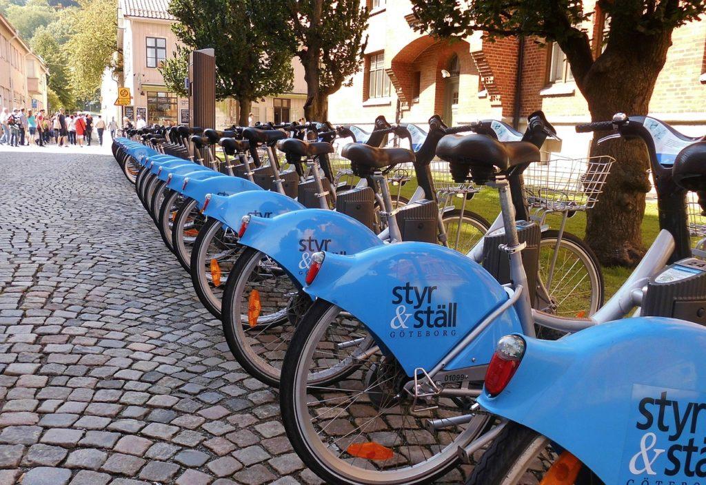Bike Rental Station Sweden