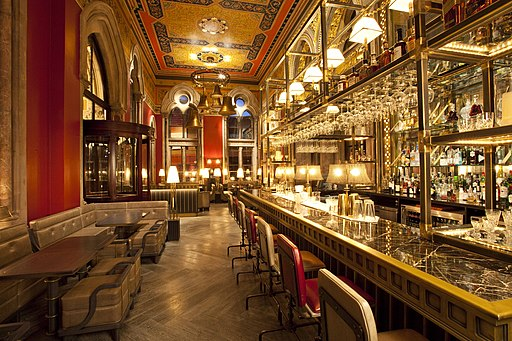 The Gilbert Scott Bar London